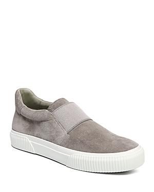 Vince Kirkland Suede Slip-On Platform Sneakers