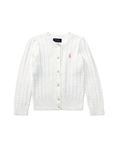 Ralph Lauren - Girls' Cable-Knit Cardigan - Little Kid