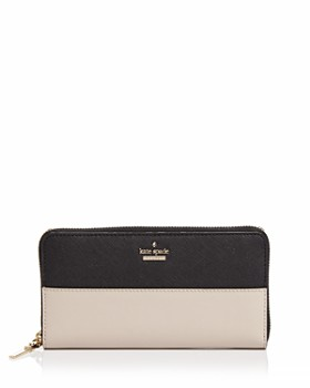 kate spade new york - Cameron Street Lacey Color Block Saffiano Leather Wallet