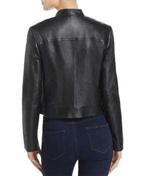 MICHAEL Michael Kors - Leather Moto Jacket
