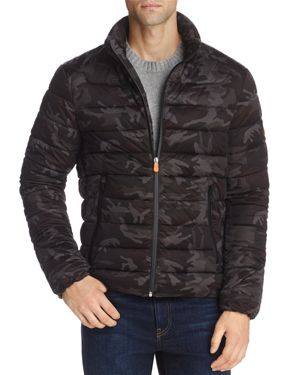 Save The Duck Camouflage Puffer Jacket