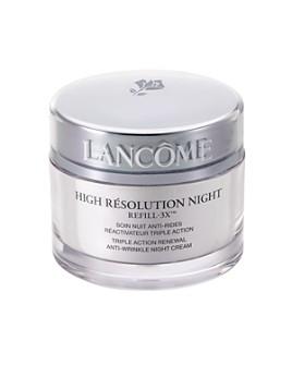 Lancôme - High Résolution Refill-3X™ Anti-Wrinkle Night Cream 2.6 oz.