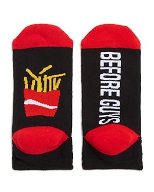 Sock Art Fries Before Guys Ankle Socks