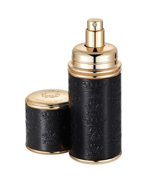 CREED DELUXE LEATHER & GOLD-TONE BOTTLE ATOMIZER