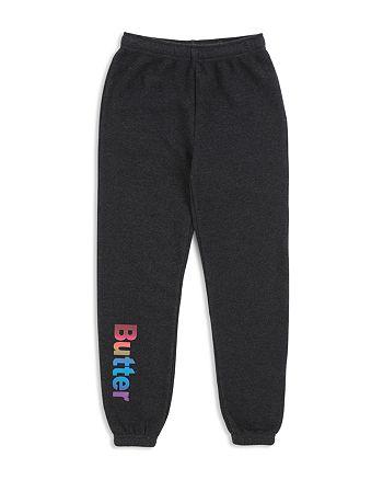 Butter - Girls' Fleece Sweatpants - Big Kid