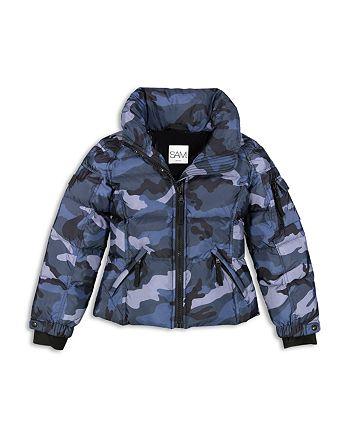 394ec8daa SAM. Girls  Camo Freestyle Down Jacket - Big Kid