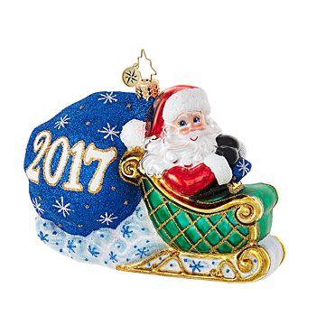Christopher Radko - No Looking Back 2017 Ornament