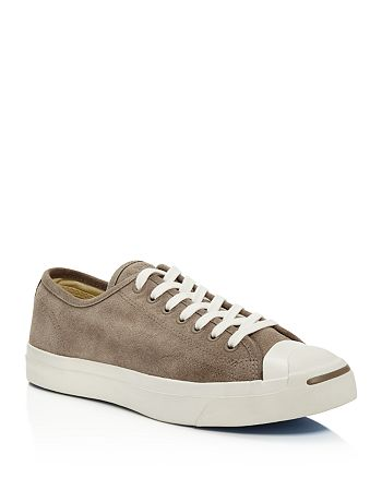Converse - Men's Jack Purcell LTT Suede Lace Up Sneakers