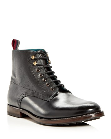 $Ted Baker Men's Dhavin Leather Lace Up Boots - Bloomingdale's