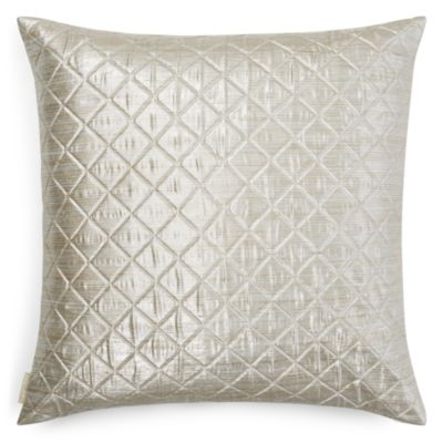 $Sivaana Haystack Silk and Cotton Metallic Euro Sham - Bloomingdale's