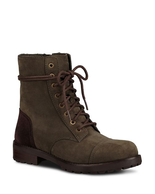 UGG® - Women's Kilmer Water Resistant Leather Lace Up Booties