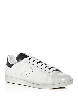 Raf Simons for Adidas Men's Stan Smith Leather Lace Up Sneakers