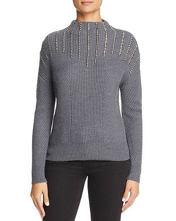 KAREN MILLEN - Studded Sweater