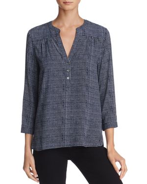 Soft Joie Rosalynn Diamond-Shaped Pattern Top