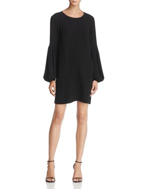 Elizabeth and James Claudia Balloon-Sleeve Shift Dress