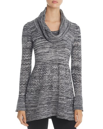$Heather B Cowl Neck Pointelle Sweater - Bloomingdale's