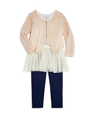 Pippa  Julie Girls Sweater Tutu Tank  Leggings Set  Little Kid