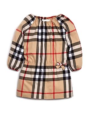 Girls Burberry Kadyann Check Dress