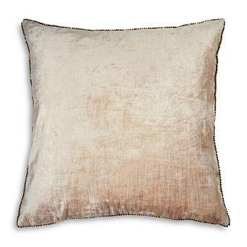 """Michael Aram - Beaded Velvet Decorative Pillow, 18"""" x 18"""""""