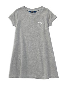 Polo Ralph Lauren Girls' French Terry Shirt Dress - Little Kid - Bloomingdale's_0