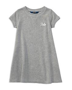 Ralph Lauren - Girls' French Terry Shirt Dress - Little Kid