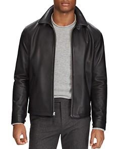 Polo Ralph Lauren - Maxwell Lambskin Leather Zip Jacket