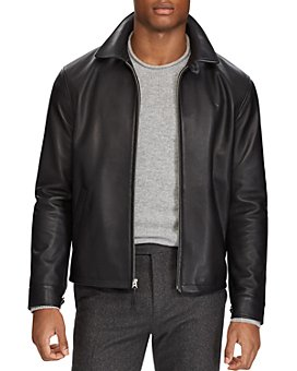 Polo Ralph Lauren - Maxwell Lambskin Leather Zip Jacket