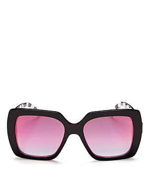 Marc Jacobs Mirrored Square Sunglasses, 53mm