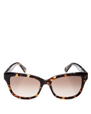 kate spade new york Johanna2 Rectangle Sunglasses, 53mm