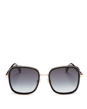Jimmy Choo Elva Square Sunglasses, 54mm