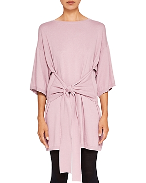 Ted Baker Ted Says Relax Olympy Tie-Front Knit Tunic