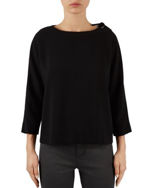 Gerard Darel Baldwin Tie Shoulder Top