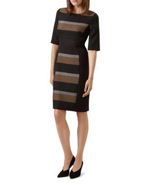 Hobbs London Nora Stripe Sheath Dress