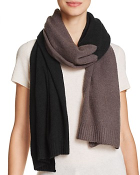 Echo - Soft Stretch Color-Block Scarf - 100% Exclusive