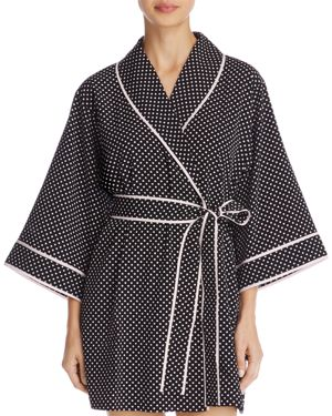 kate spade new york Polka Dot Short Robe