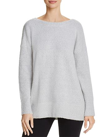 FRENCH CONNECTION - Urban Flossy Scoop-Back Sweater