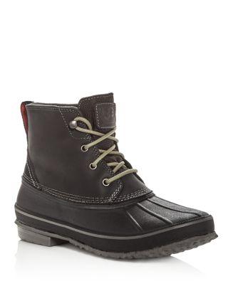 9d5ddb1b3d0 UGG® Men's Zetik Waterproof Leather Duck Boots | Bloomingdale's