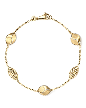 Bloomingdale's Pepita Beaded Bracelet in 14K White & Yellow Gold - 100% Exclusive
