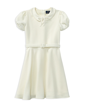 Ralph Lauren Childrenswear Girls' Collared Crepe Dress - Little Kid