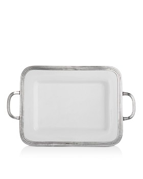 Arte Italica - Tuscan Small Rectangular Tray with Handles