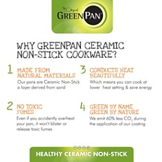 GreenPan - Limited Edition 10th Anniversary 5-Piece Ceramic Nonstick Cookware Set