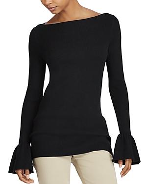 Lauren Ralph Lauren Ruffle Cuff Tunic Sweater