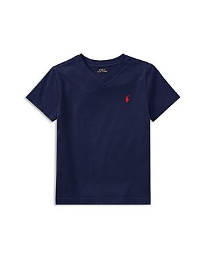 Ralph Lauren Childrenswear Boys VNeck Tee  Little Kid