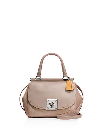 558ae7beed ... spain coach drifter top handle satchel in edgestain leather 6c4a4 0320f