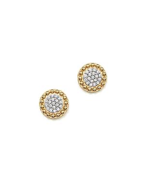 Bloomingdale's Diamond Cluster Beaded Stud Earrings in 14K Yellow Gold, .15 ct. t.w. - 100% Exclusive