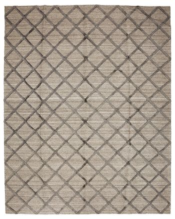 Solo Rugs - Flat Weave Area Rug, 8' x 10'