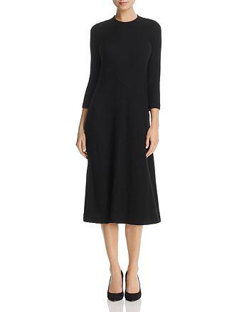 Three Dots - Ribbed Midi Sweater Dress