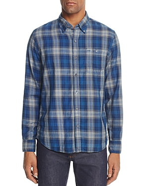 Oobe Concord Plaid Regular Fit Button-Down Shirt