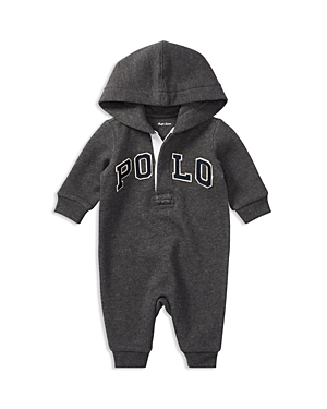Ralph Lauren Childrenswear Boys' Hooded Polo Coverall - Baby