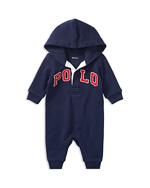 Ralph Lauren Childrenswear Boys Hooded Polo Coverall  Baby